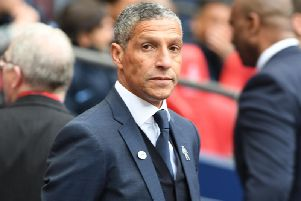 Brighton & Hove Albion manager Chris Hughton. Picture by PW Sporting Photography