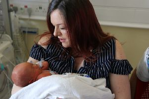 Sherrie with baby Jaxson
