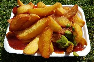 Triple cooked chippies from the Brighthelm Street Food Market
