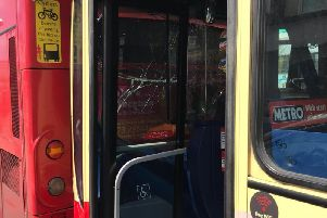 The bus collision in Portslade