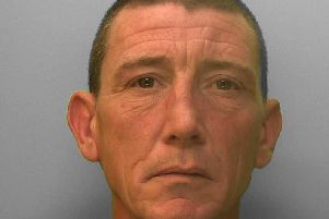 Jason King, 42, unemployed, of Heybourne Road, Brighton, was sentenced at Brighton Crown Court on 9 July to a one-year prison sentence for the theft of a purse from a vulnerable elderly woman in a supermarket, said police.