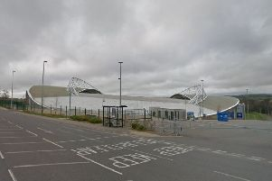 American Express Community Stadium, home of Brighton and Hove Albion Football Club (photo by Google Maps Street View)
