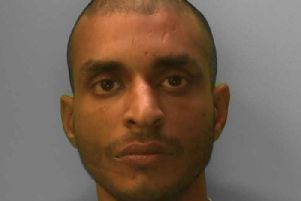 Muhhammed Ahmed, 35, of Ingram Crescent West, Hove, was jailed for a year after pleading guilty to carrying out eight burglaries at businesses in Hove. He admitted eight charges of burglary, possession of cocaine and breaching a conditional discharge issued in April this year for shoplifting, said police.