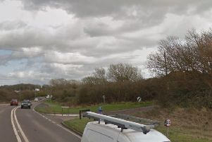 The collision happened on the A259 in Peacehaven. Picture: Google Street View