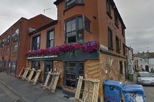 The Eagle pub (photo from Google Maps Street View).