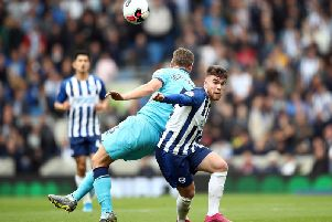 Aaron Connolly produced a dynamic display against Tottenham Hotspur at the Amex
