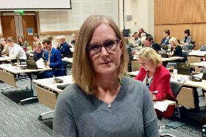 Pippa Hodge, member of the PaCC Steering Group, spoke about the continuing problems faced by young people with special needs and disabilities as they made their way to school.