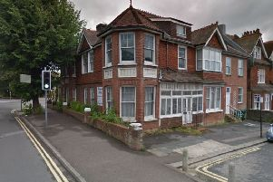 The former Lavender Lodge care home in Caburn Road, Hove, is set to be turned into  a hostel for homeless by the council (photo from Google Maps Street View).