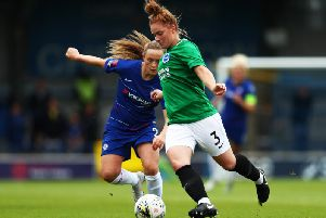 Fliss Gibbons is targeting victory against Brimingham at the Amex Stadium this Sunday