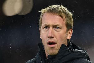 Graham Potter's Brighton will hope to build on their encouraging performance at Anfield last Saturday