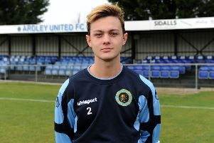 Will McEachran broke the deadlock for Ardley United against Brackley Town Saints