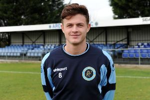 Jack Heap hit Ardley United's third goal
