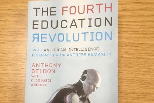 Sir Anthony Seldon's new book The Fourth Education Revolution