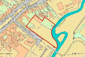 A map to show where the care home would be located in Buckingham