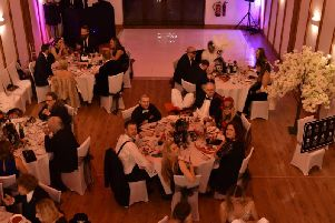 Winters Tale County Barn in Middle Claydon was in full swing on November 3 as it hosted a Masquerade Ball.