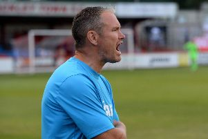 Brackley Town manager Kevin Wilkin saw his side slip to back-to-back defeats