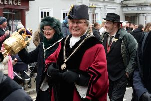 Mayor Jon Harvey and Mayoress Julie Uglow