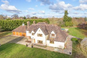 Picture yourself in this seven bedroom home with its own 11 acre estate
