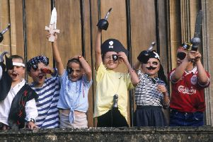 Pirate orienteering at Waddesdon Manor