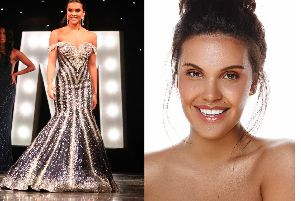 Saffron Cocoran is in the running for the Miss Universe Great Britain crown.