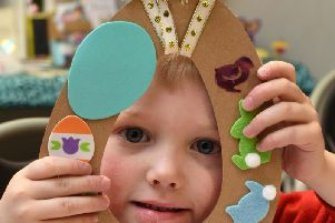 Children unleashed their creative sides at an Easter craft event at Lace Hill Community Centre last weekend