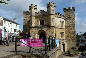 Library image of Buckingham Old Gaol - the 'pub crawl' starts outside the Gaol