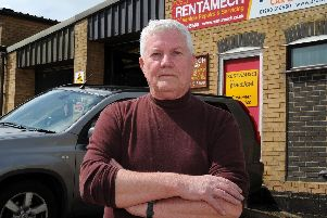 Rentamech owner Colin Evans