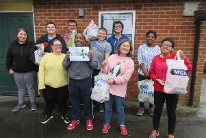 Students from Harding House Special School