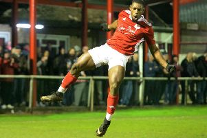 Lee Ndlovu made it 17 goals for the season against Southport EMN-200219-163553002