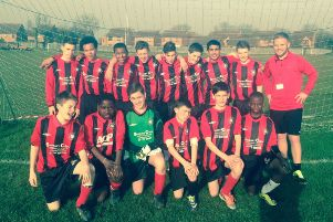 Mandeville School's Year 8 boys are in the county cup final