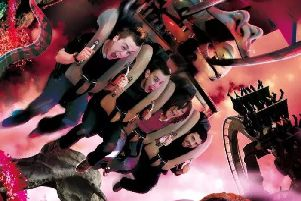 Are you brave enough to take on the Big 6 Challenge at Alton Towers? Photo - Alton Towers.