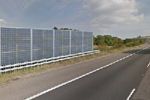 How the noise barriers might look