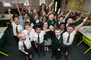 Cinzia Imbriano, a teacher from Green Ridge Primary Academy. Miss Imbriano is in the final five at the Pearson Teaching Awards, a national competition, in the Best New Teacher of the Year category.