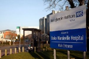 Stoke Mandeville Hospital entrance