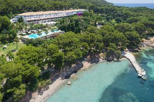 The Royal Hideaway Formentor stands on its own.