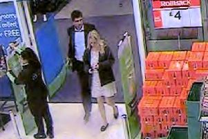 CCTV shows Amersham man accused of murder with Christina Abbotts, hours before her death
