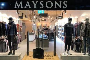 High end clothes store Maysons is set to open in Hale Leys