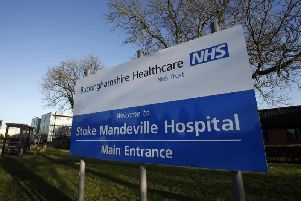 Self harmers 'at risk' at Stoke Mandeville hospital, says report