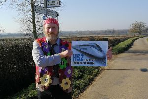 Councillor Robin Stuchbury backs our HS2 campaign