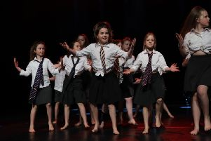 Bierton Combined School performing at the Honeycomb Festival in Aylesbury