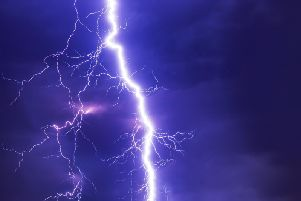 Thunderstorms are predicted across Buckinghamshire from Tuesday night
