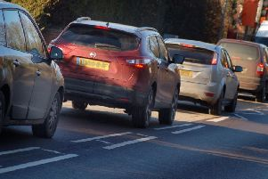 A rogue set of temporary traffic lights has ground aylesbury to a stop this week