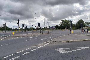 No-right-turn experiment at Stocklake junction
