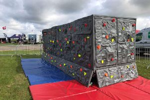 Children's Bouldering Wall and Mobile Cave set to entertain visitors to Aylesbury this Thursday