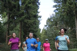 The running group will be based in Wendover Woods