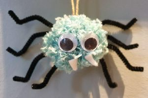 Make a spooky spider at Bucks County Museum