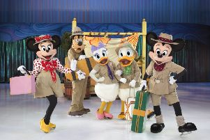 Disney skates its way back to Belfast