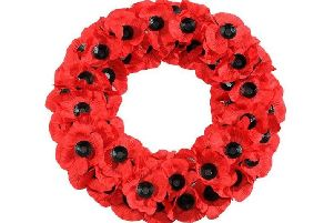Poppy wreath.