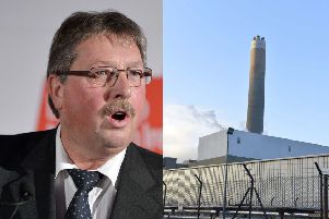 Sammy Wilson has expressed concerns about  future energy supply