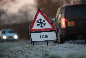 Ice warning